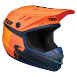 Thor Youth Sector Racer Helmet Orange/Midnight