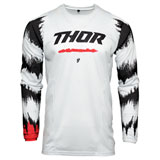 Thor Youth Pulse Air Rad Jersey White/Red