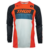 Thor Youth Pulse Racer Jersey Orange/Midnight