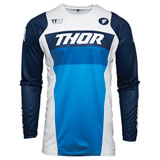 Thor Youth Pulse Racer Jersey White/Navy