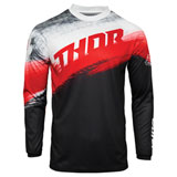 Thor Youth Sector Vapor Jersey Black/Red