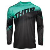 Thor Youth Sector Vapor Jersey Mint/Charcoal