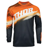 Thor Youth Sector Vapor Jersey Orange/Midnight
