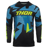 Thor Youth Sector Warship Jersey Blue/Acid