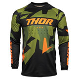 Thor Youth Sector Warship Jersey Green/Orange