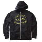Troy Lee Crash Youth Zip-Up Hooded Sweatshirt