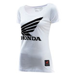 Troy Lee Women's Honda Wing T-Shirt White