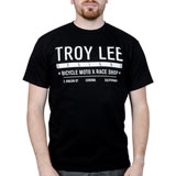 Troy Lee Clean Cut T-Shirt Black