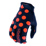 Troy Lee Youth Air Polka Dot Gloves
