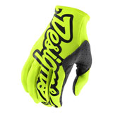 Troy Lee SE Gloves Flo Yellow