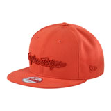 Troy Lee Classic Signature Snapback Hat Burnt Orange