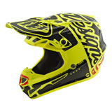 Troy Lee Youth SE4 Factory MIPS Helmet Yellow