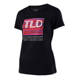 Troy Lee Women's Electro T-Shirt Black