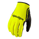 Troy Lee XC Gloves Flo Yellow