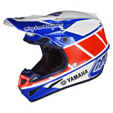 Troy Lee SE4 Yamaha Composite MIPS Helmet Blue