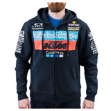 Troy Lee KTM Team Zip-Up Hooded Sweatshirt