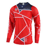 Troy Lee SE Air Metric Jersey Red/Navy