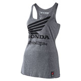 Troy Lee Women's Honda Wing Tank Heather Grey