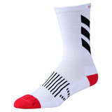 Troy Lee Performance Crew Socks Escape White/Black