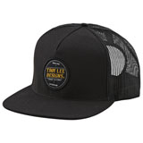 Troy Lee Beer Head Snapback Hat Black