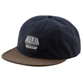 Troy Lee Reflective Factory Snapback Hat Navy