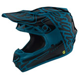 Troy Lee Youth SE4 Factory MIPS Helmet Ocean