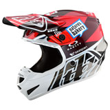 Troy Lee Youth SE4 Jet Helmet Orange/Grey