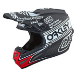 Troy Lee SE4 Team Edition 2 Carbon MIPS Helmet Black