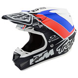 Troy Lee SE4 Unite Composite MIPS Helmet White/Navy