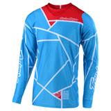 Troy Lee SE Air Metric Jersey Ocean