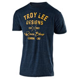 Troy Lee Vintage Race Shop T-Shirt Midnight Blue