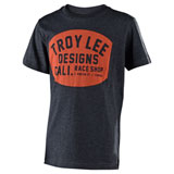 Troy Lee Youth Blockworks T-Shirt Charcoal