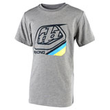 Troy Lee Youth Precision 2.0 T-Shirt Dark Grey Heather