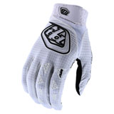 Troy Lee Air Gloves White