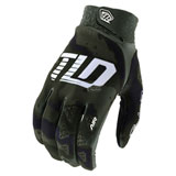 Troy Lee Air Camo Gloves Green/Black