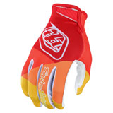 Troy Lee Air Jet Gloves Red/Yellow