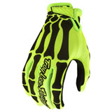 Troy Lee Air Skully Gloves 20 Yellow/Black