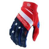 Troy Lee Air Stars & Stripes Gloves Red/Blue