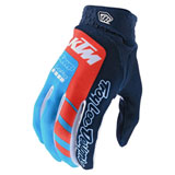 Troy Lee Air TLD/KTM Gloves Navy/Ocean