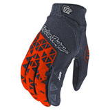 Troy Lee Air Wedge Gloves Orange/Grey