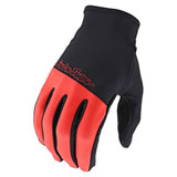 Troy Lee Flowline Gloves Tangerine