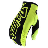 Troy Lee GP Gloves Flo Yellow