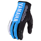 Troy Lee GP Yamaha Gloves Black/Cyan