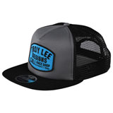 Troy Lee Blockworks Snapback Hat Graphite/Black