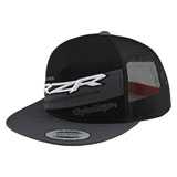 Troy Lee Polaris RZR Snapback Hat Grey/White