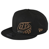 Troy Lee Precision 2.0 Checkers Snapback Hat Black