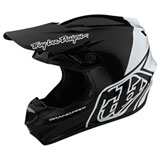 Troy Lee GP Block Helmet Black/White