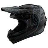 Troy Lee Youth GP Silhouette Helmet Black/Grey