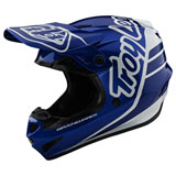 Troy Lee Youth GP Silhouette Helmet Navy/White
