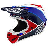 Troy Lee SE4 Beta MIPS Helmet 2019 Red/Blue